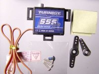 Serva Turnigy 555MG a Hextronic MG-14